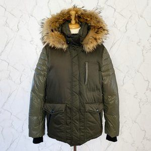 Soia & Kyo Polty Fur Trim Hood Down Fill Parka